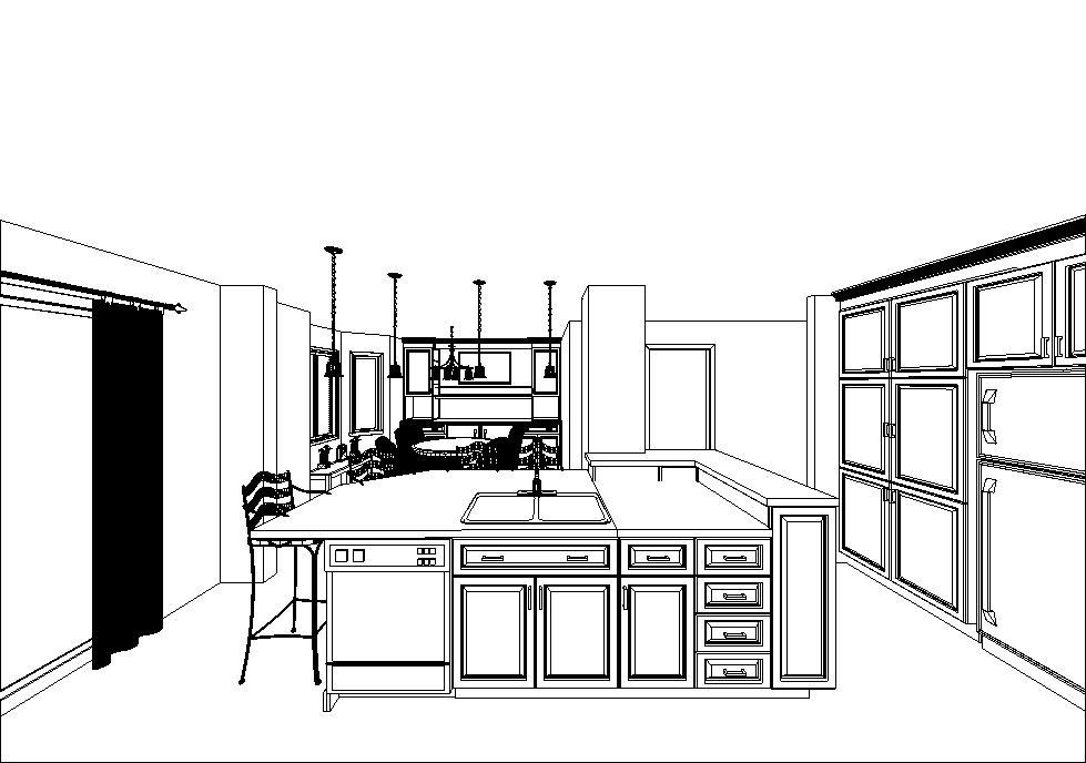 Monarch Designer Enters NKBA Kitchen Design Competition