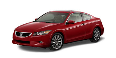 2010 Honda Accord Coupe  EX-L V-6 5-Spd AT w/ Navigation System