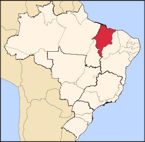 mapa de la mayor refineria de Brasil