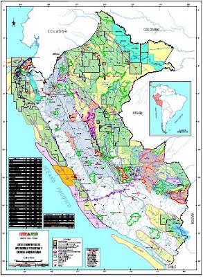 Mapa de Lotees petroleros