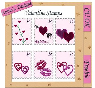 Valentine Stamps - By: DigitalScrapbookLove Valentine+stamps