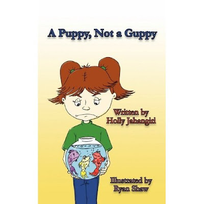 "But for now, let us talk about Ms. Holly Jahangiri's ""A Puppy, Not a Guppy""."