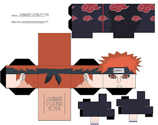Pein Pain Papercraft