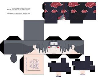Itachi Papercraft