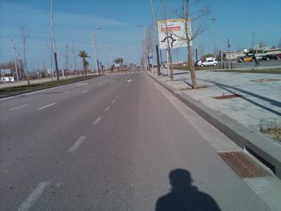 Carretera aeropuerto el Prat - Barcelona