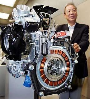 Hybrid motor çalışma prensibi