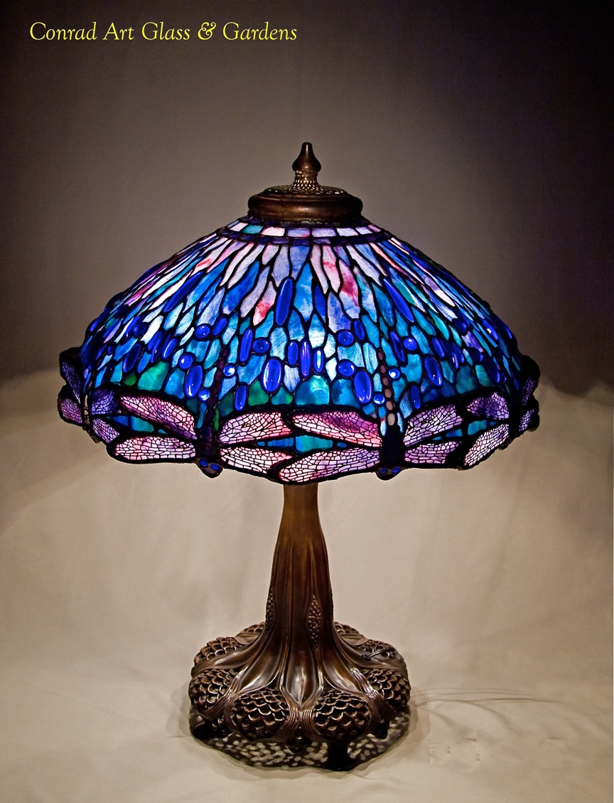My stained glass lamp work... | Conrad Art Glass & Gardens