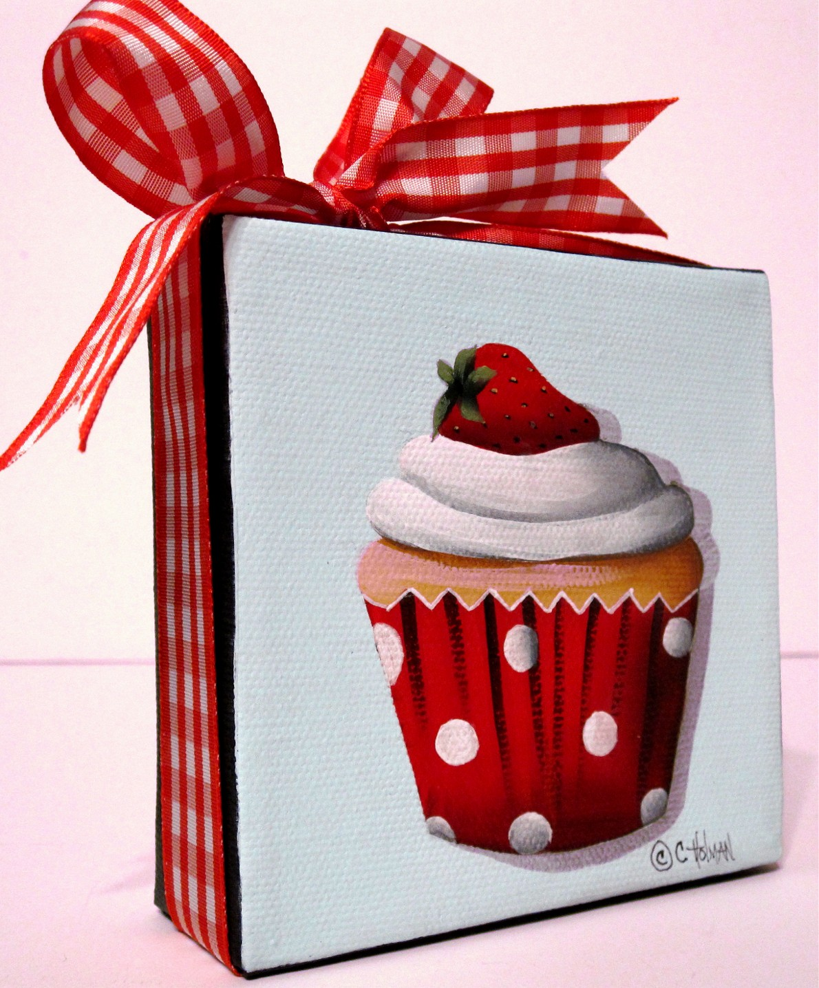 Strawberry Shortcake Cupcake Painting and Evening in Madrid
