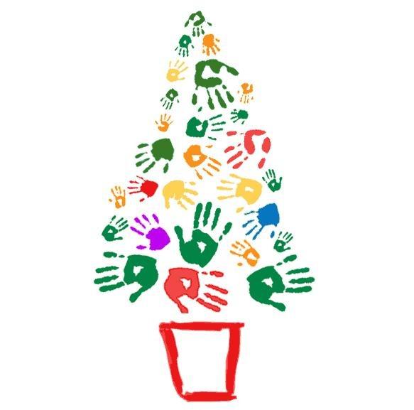 Para Hacer Manualidades De Navidad Con Las Huellas De La Palma De La
