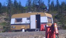 Campingvogna vi arvet fra hyttenaboen