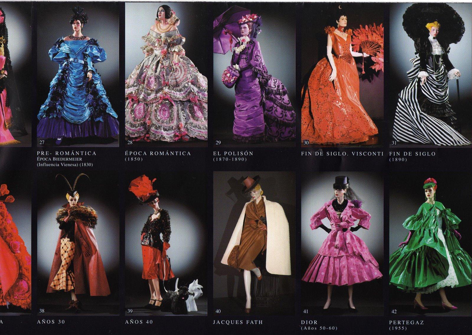 Transcurso de la moda la moda comienza en el año