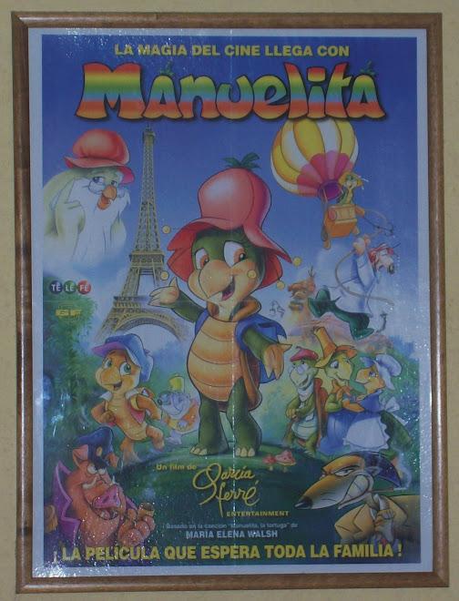 "Afiche de la película ""Manuelita"""