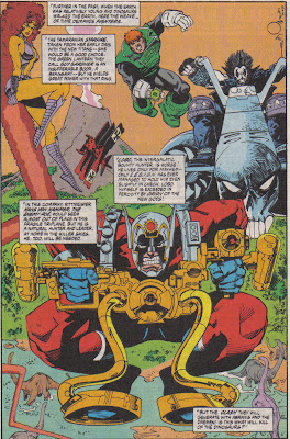 This may have been the first time Simonson drew Orion, well before his series.