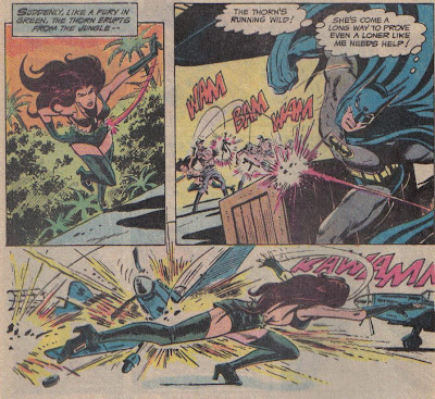 Again, Batman has a code against killing, but no problem with Thorn blowing up a jungle full of Nazis.  You shouldn't either.