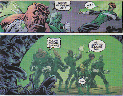 Here's a helpful tip: if Kilowog and renowned cranky bastard Salaak think you should kill them, he's probably right.