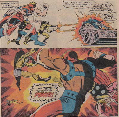 No snide commentary here, except I really like Sal Buscema's art on this moreso than his later work.