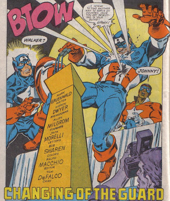 Who would have thought I'd become nostalgic for the caretaker editorial reign of Tom Defalco?