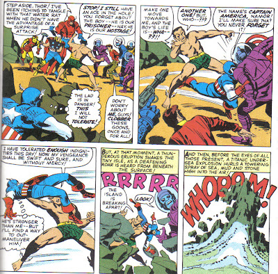Oh, Namor remembers Cap, he just doesn't like him.