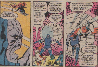 If anyone has a vague idea why this clone has the mad-on for Darkseid, let me know...