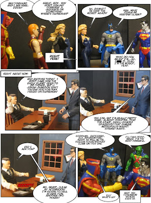 Ever feel that maybe, just maybe, 'Clark Kent' isn't a good use of Superman's time? Clark's like Second Life, only he can't do anything good...
