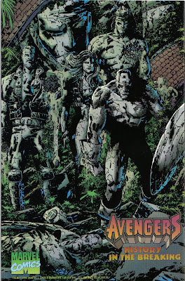 Why is Cap's statue hunched over? Hurt his back on class...sculpture day?