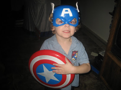 And if you thought Bucky was too baby-faced to be Cap...