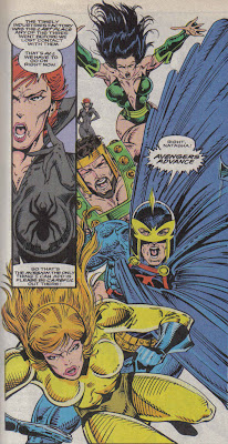 Yeah, Cap shut Dane down on using 'Avengers Assemble' right quick.