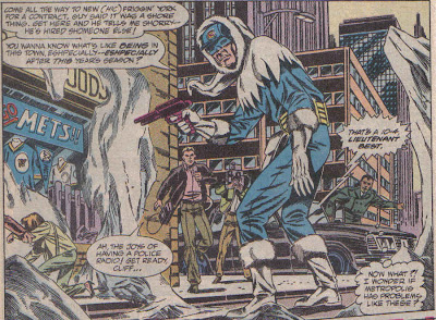 Captain Cold should be allowed to make more appearances drunk as a monkey.