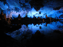 Inside Reed Flute Cave in Guilin