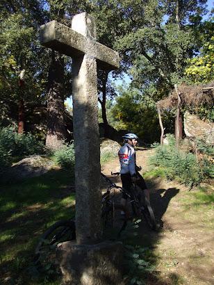 Cruz da capela de São João de Valinhas