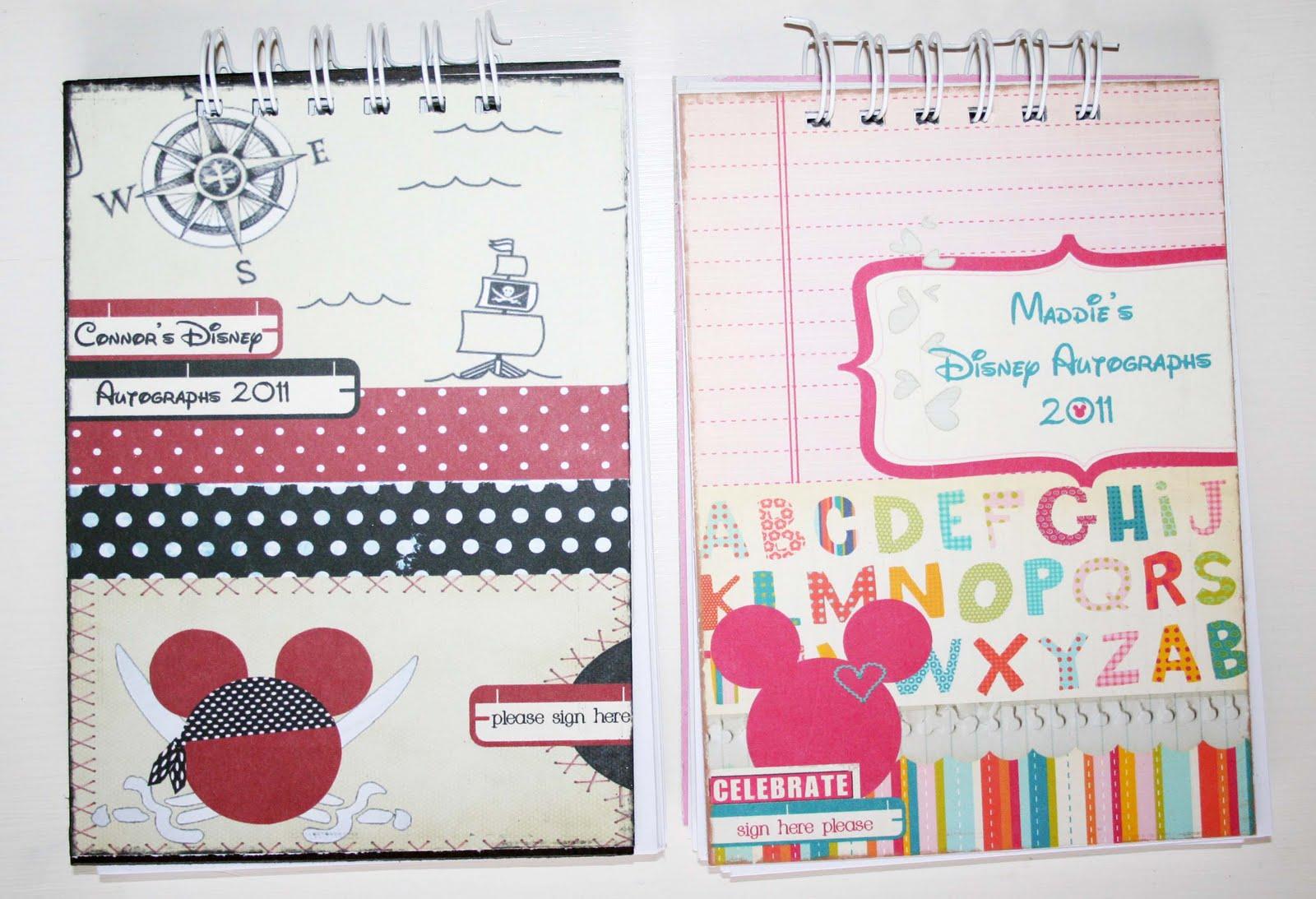 pink owl inspiration autograph books