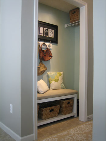 Mud Room Coat Closet