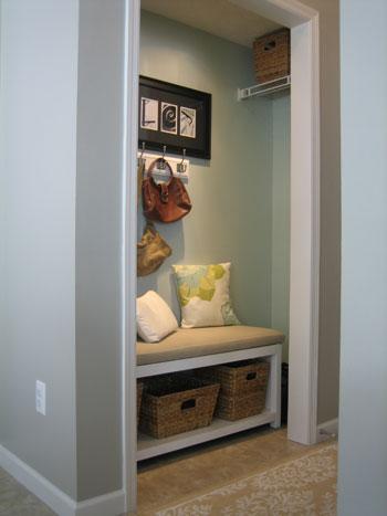 Little Inspirations: Coat Closet Cubby