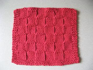 Knitting in my backyarn checkerboard dishcloth checkerboard dishcloth dt1010fo