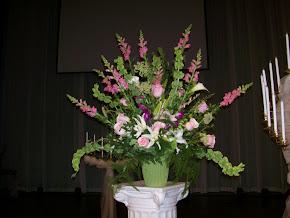 platform flowers