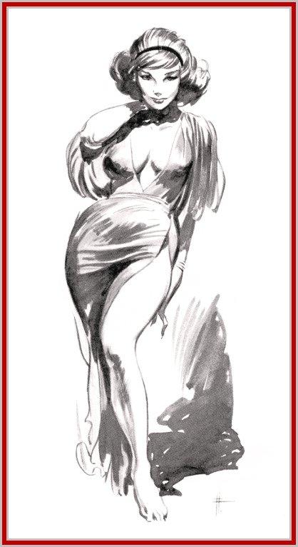 Авторские рисунки эротики отличная