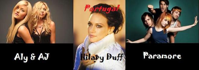 Aly & AJ / Hilary Duff / Paramore Portugal