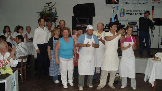 Wolgadeutsche Gastronomía encargados de cocina