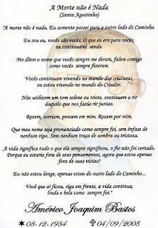 Santinho De Missa De 7   Dia