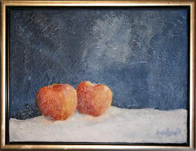 Epler i snø