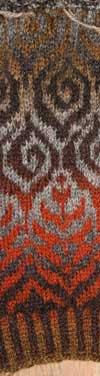 En stripe av jakka
