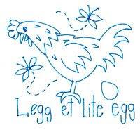 Legg et lite egg