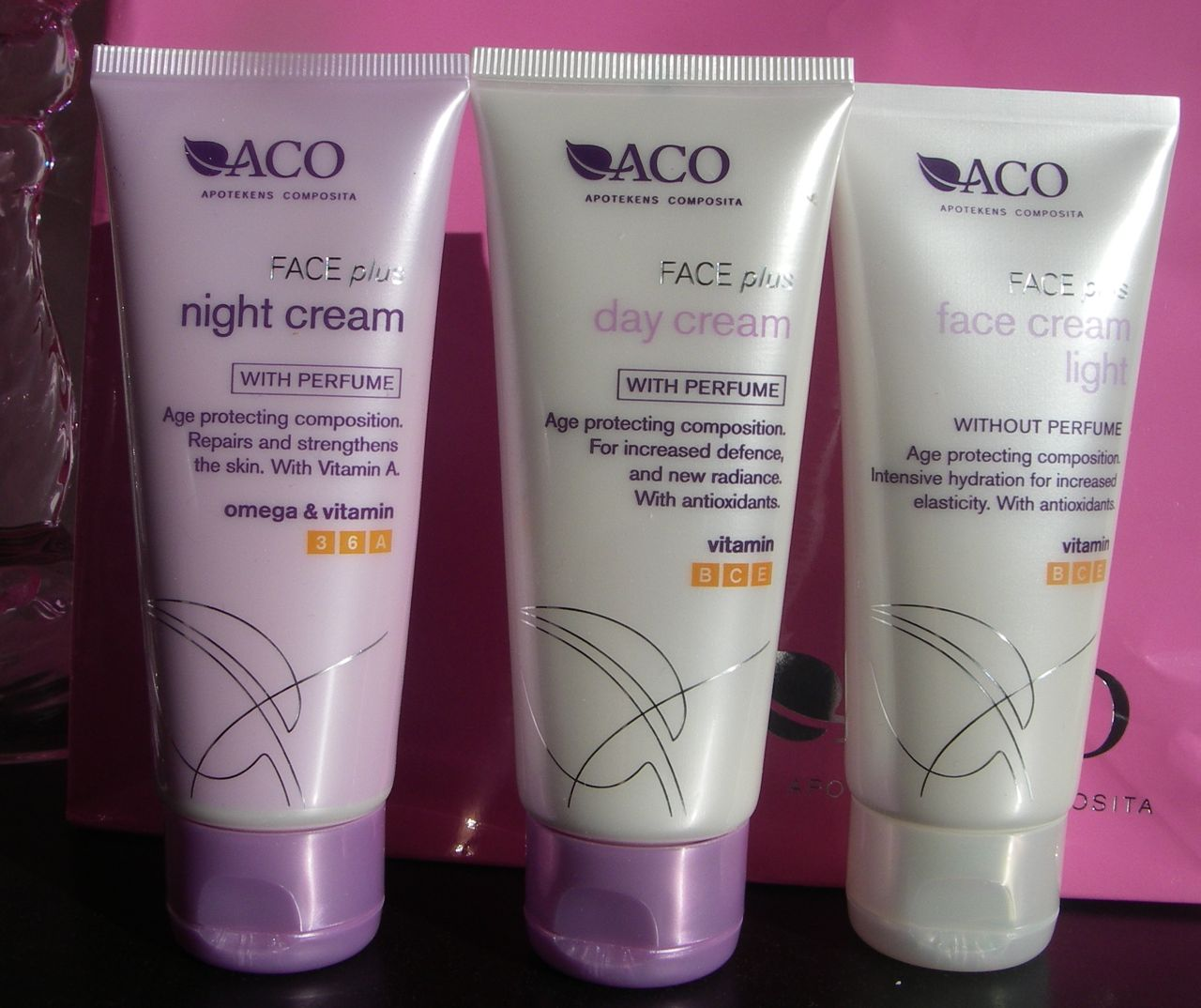 aco face plus soft bronze face cream