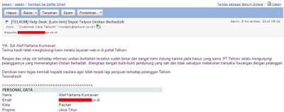Email CC Telkom