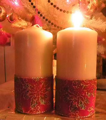De todo un poco velas decoradas - Velas decoradas para navidad ...