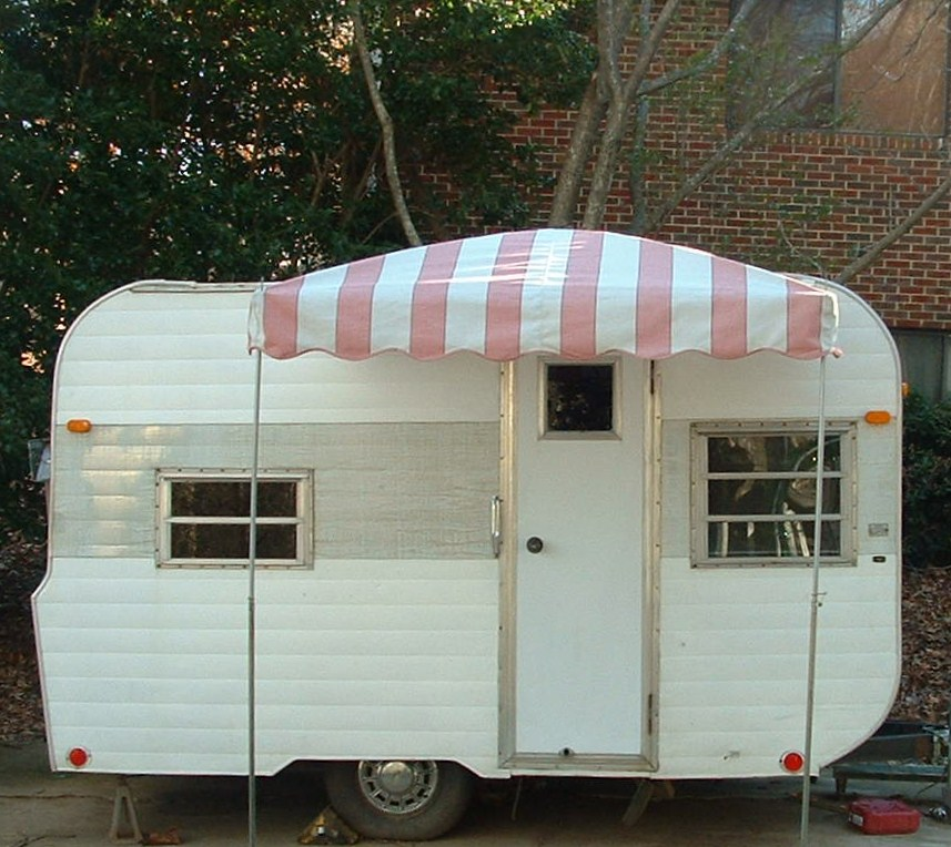 Vintage Awnings Pictures Of A 6 X 6 Arched Up Vintage