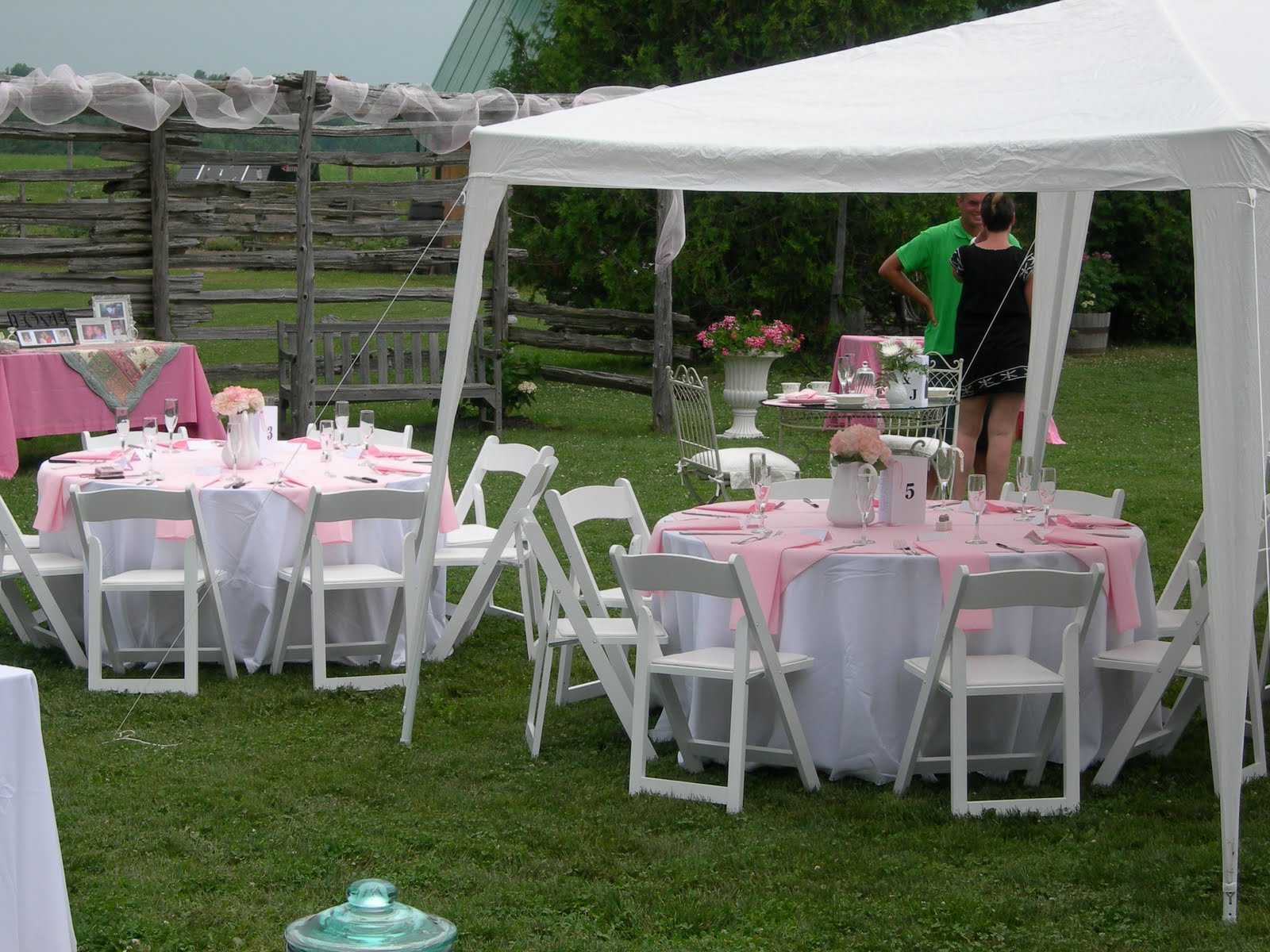 Backyard Engagement Party Food Ideas : Events at Select Service Outdoor country themed engagement party