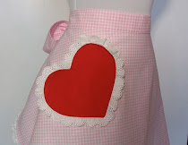 Valentine's Apron Swap hosted by Sue from Country Pleasures