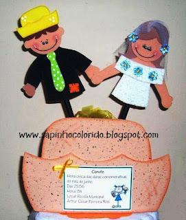 Convite de Festa Junina!... para crianças