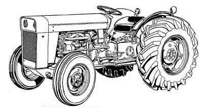 Massey Fergusonm F 240 Tractortractor on What Tractors Have A Perkins Engine